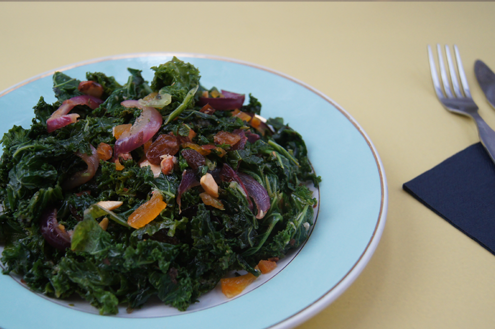 Kale salad-done